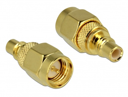 Adaptor SMC jack la SMA plug, Delock 65854