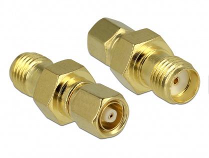 Adaptor SMC plug la SMA jack, Delock 65869