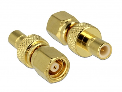 Adaptor SMC plug la SMB jack, Delock 65876