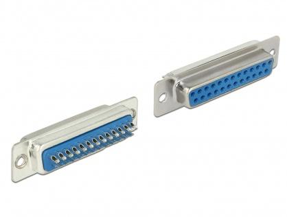 Conector D-SUB 25 pini mama, Delock 65879
