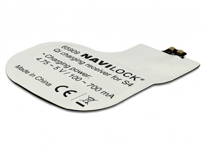 Receptor intern Qi Charging pentru Samsung Galaxy S4, Navilock 65909