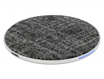 Incarcator Wireless Qi Fast charger 7.5 / 10W, Delock 65919
