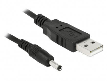 Cablu USB de alimentare DC 3.5 x 1.35mm 1.5m, Delock 82377