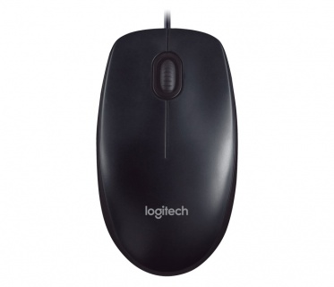 Mouse optic Logitech M90, USB, gri