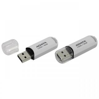 Stick USB 2.0 cu capac 16GB C906 Alb, ADATA