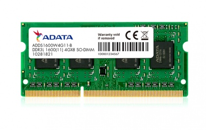 Memorie SODIMM LOW VOLTAGE ADATA DDR3/1600 8192M