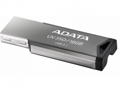 Stick USB 3.1 Gen 1 16GB Gri, A-DATA AUV350-16G-RBK