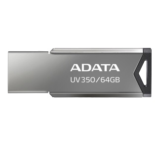 Stick USB 3.1 Gen 1 64GB Gri, A-DATA AUV350-64G-RBK
