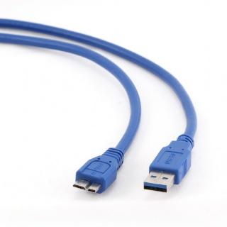 Cablu USB 3.0 la micro B 1.8m, Gembird CCP-mUSB3-AMBM-6