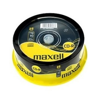 CD-R 700MB 52x 25buc Maxell