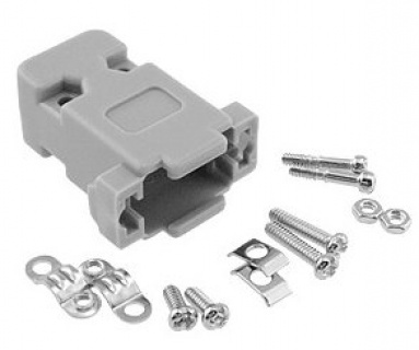 Carcasa din plastic pentru conector serial DB9