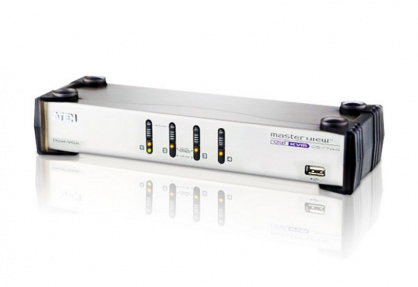Distribuitor KVMP 4 porturi USB Dual View, ATEN CS1744