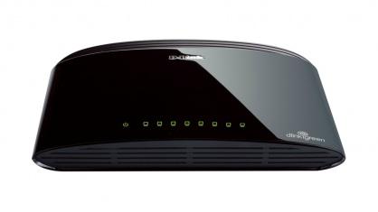 Switch Desktop 8 porturi 10/100 Mbps, D-LINK DES-1008D