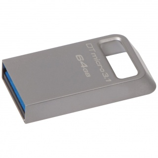 Stick DataTraveler Micro 64GB USB 3.1/3.0, Metal, Kingston