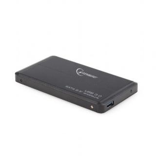 "RACK EXTERN 2.5"" PENTRU HDD SATA CU USB 3.0 NEGRU, GEMBIRD"