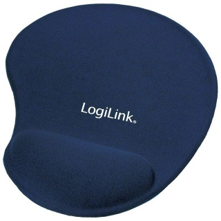 Mouse Pad silicon, blue, Logilink ID0027B
