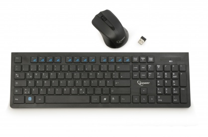 Kit wireless tastatura+mouse, Gembird KBS-WCH-01