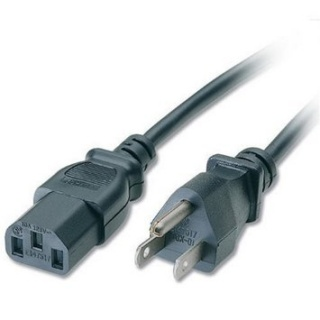 Cablu de alimentare USA la C13 2m Negru