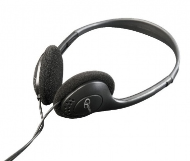Casti stereo Negru, Gembird MHP-123