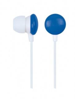 Casti stereo Blue/White, Gembird MHP-EP-001-B