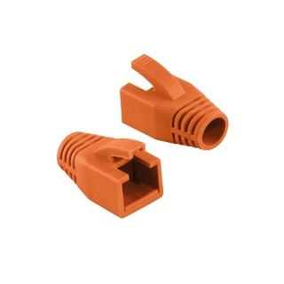 Manson cablu retea diametru max 8mm portocaliu, Logilink MP0035O