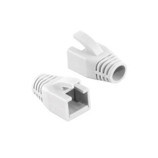 Manson cablu retea diametru max 8mm alb, Logilink MP0035W