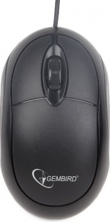 Mouse USB optic Negru, Gembird MUS-U-01