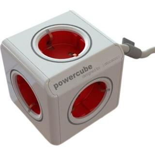 Prelungitor PowerCube sub forma de cub 5 prize Schuko 1.5m, ALLOCACOC