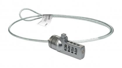 Cablu de securitate cu cifru pentru notebook, Sweex PA203