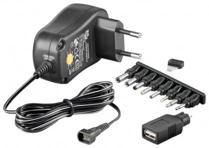 Alimentator universal 230V/3-12VDC 1500mA, Goobay 53997