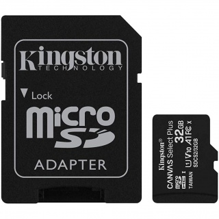 Card de memorie micro SDHC 32GB clasa 10 Canvas Select Plus, Kingston SDCS2/32GB