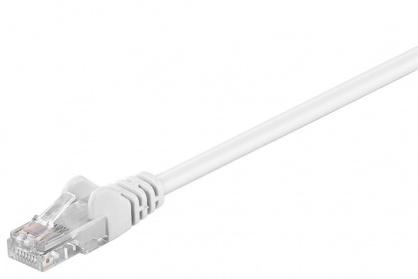 Cablu retea UTP cat.6 Alb 0.25m, SP6UTP002W