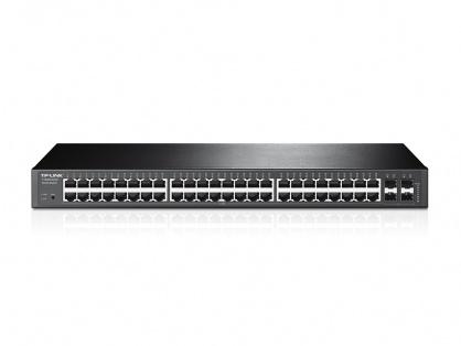 Switch 48-Porturi 10/100/1000Mbps Gigabit Smart cu 4 x porturi SFP, TP-LINK TL-SG2452