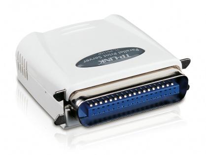 Print Server Fast Ethernet cu un port Paralel, TL-PS110P