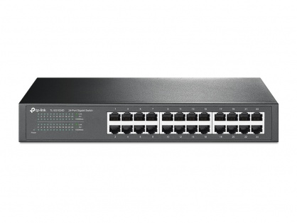 Switch 24 porturi Gigabit, desktop/rack, TP-Link TL-SG1024D