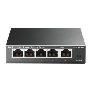 Switch 5 Porturi Gigabit, carcasa metalica, TP-Link TL-SG105