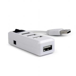 Hub cu 4 porturi USB 2.0 si switch, Gembird UHB-U2P4-21