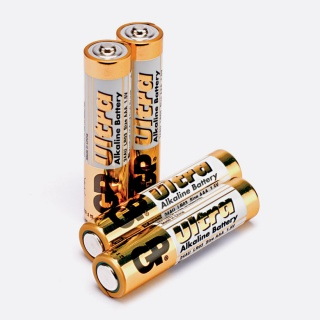 Set 4 baterii Ultra AAA, GP Batteries