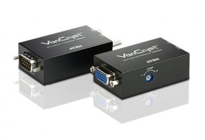 Mini VGA/Audio Cat 5 Extender max 150m, ATEN VE022