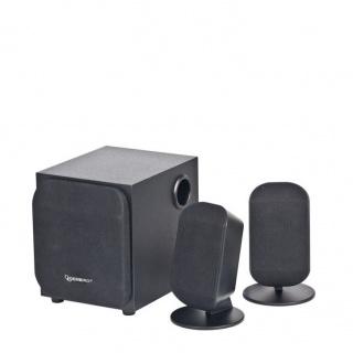 Boxe 2.1 Black, Gembird WCS-731