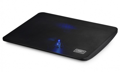 "Stand notebook DeepCool 15.6"" Blue LED, black, WINDPAL MINI"