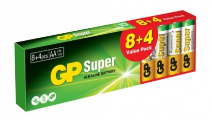 Set 12 buc baterie R6 AA, GP Batteries