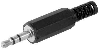 Conector pentru lipit Stereo jack 3.5 mm 3 pini Tata, cjack3m