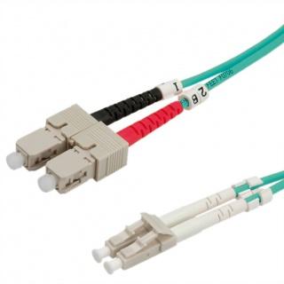 Cablu fibra optica LC-SC OM3 duplex multimode 1m, Value 21.99.8711
