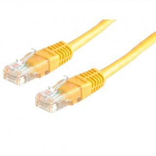 Cablu retea UTP Cat.6 galben 7m Value 21.99.1572