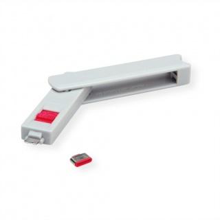 USB-C Port blocker + 1 cheie, Roline 11.02.8333