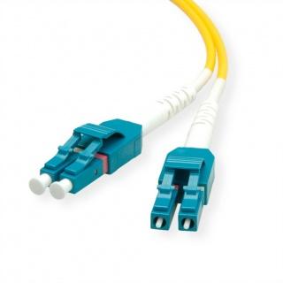 Cablu Jumper Fibra optica LC-LC duplex OS2 0.5m, Roline 21.15.8780