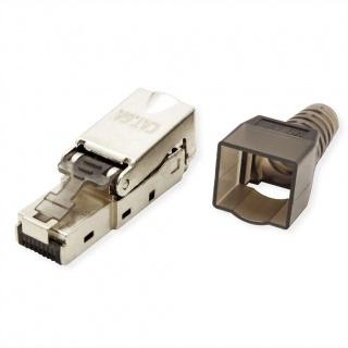 Conector de retea RJ45 cat 6A STP pentru fir solid AWG 23-26, Value 26.99.0373