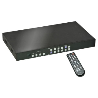 Matrix Switch 4x4 HDMI with Video Wall Scaling, Lindy L38131
