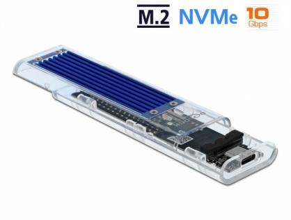 Rack extern USB-C pentru M.2 NVME PCIe SSD, Delock 42620